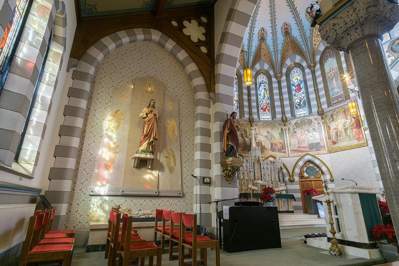 St. Helen's - Statue of Jesus