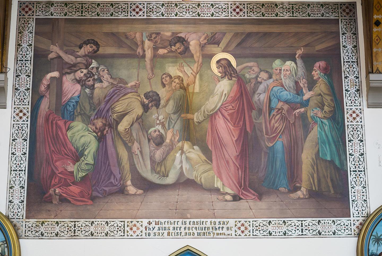 St. Helen's - Mural