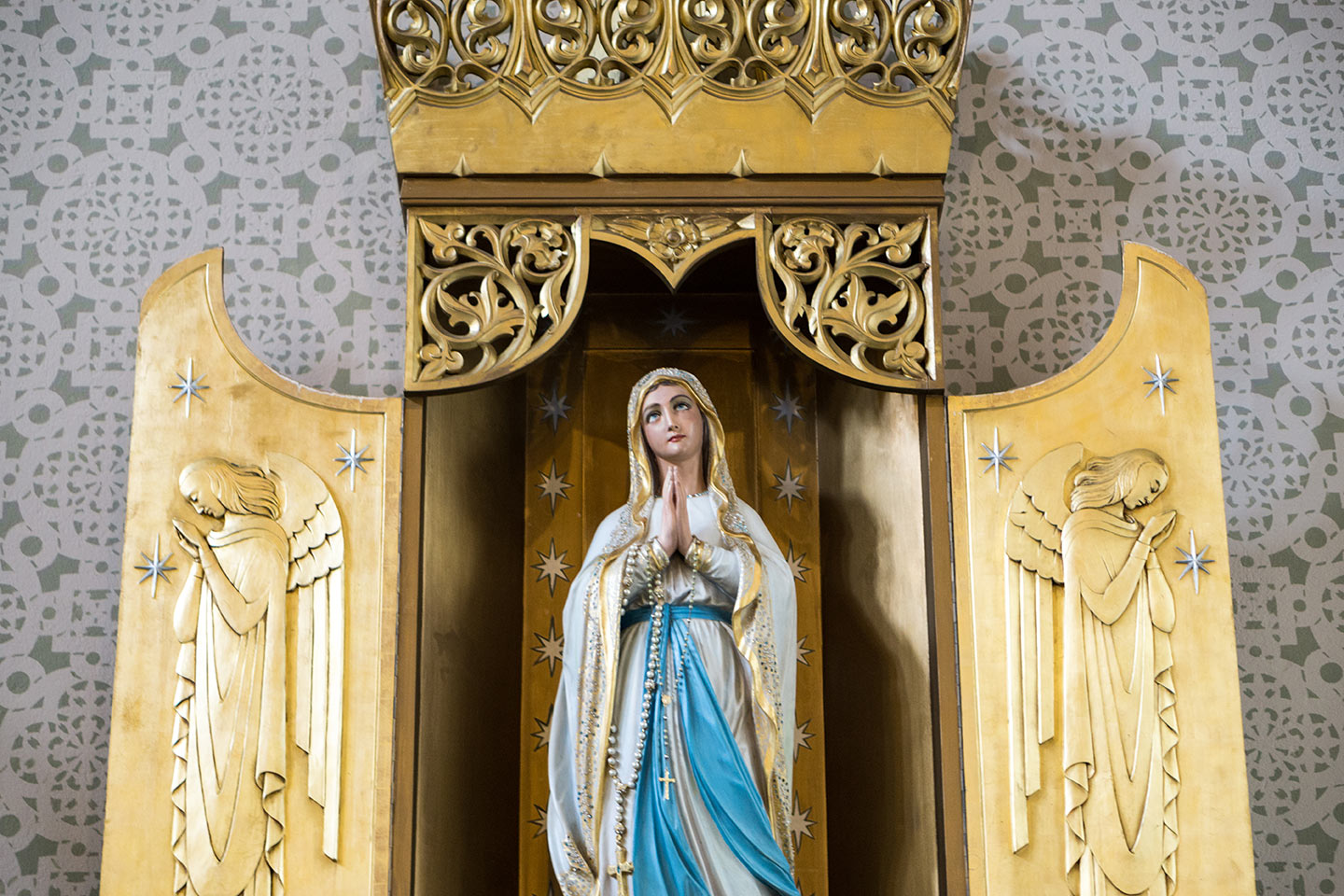 St. Helen's - Statue of Mary