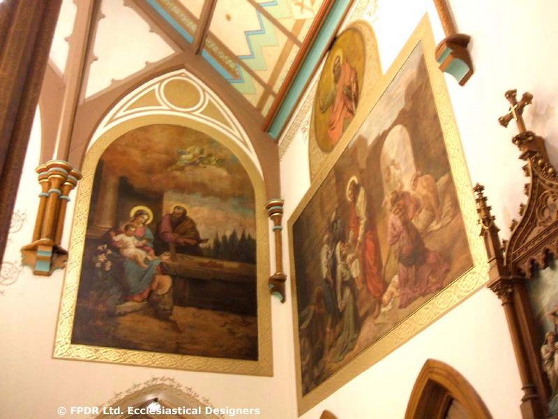 FPDR restored murals