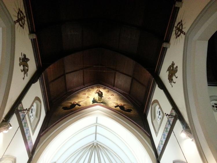 FPDR ceiling restoration