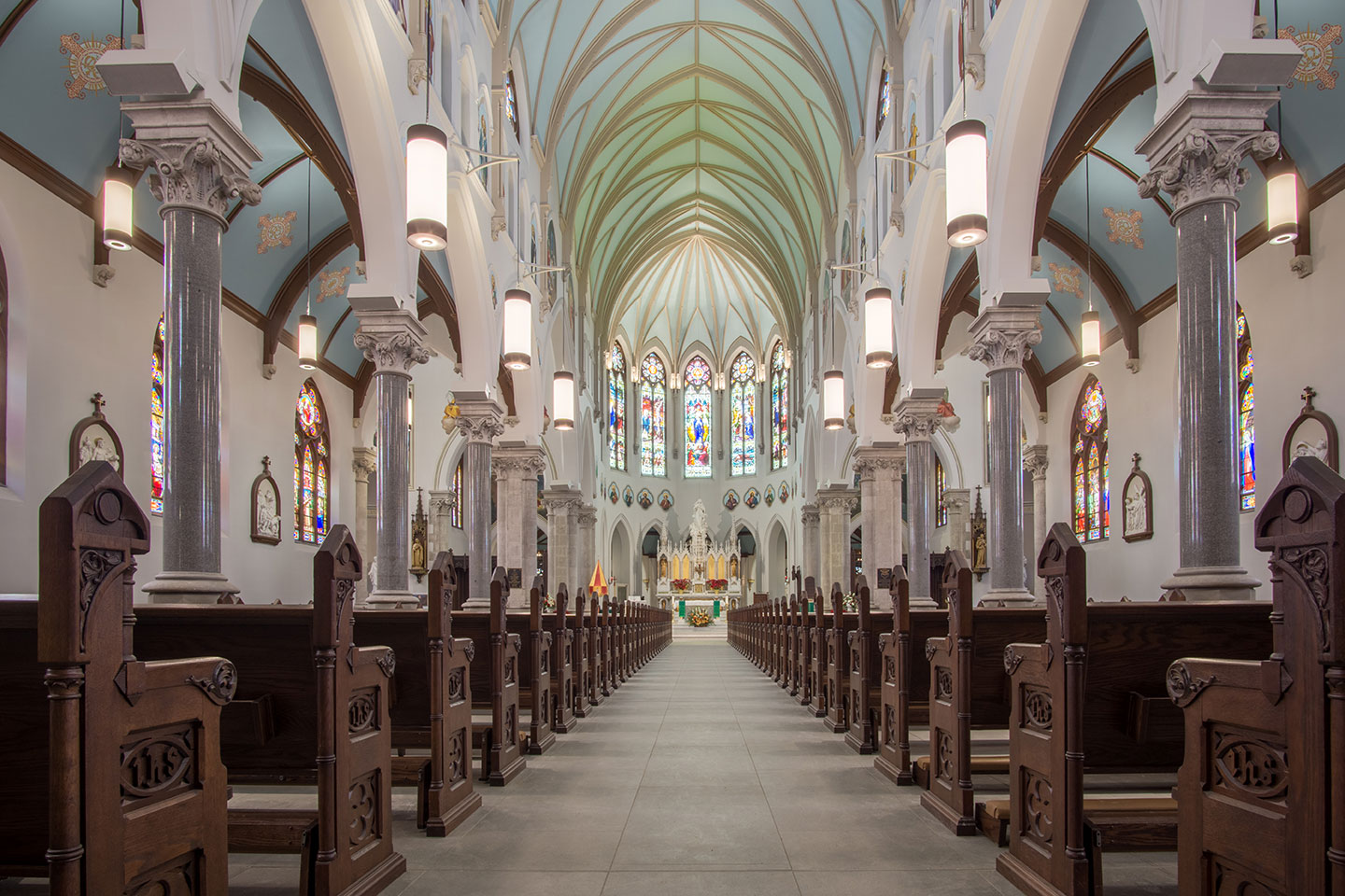 Our Lady Immaculate Basilica - Panoramic view