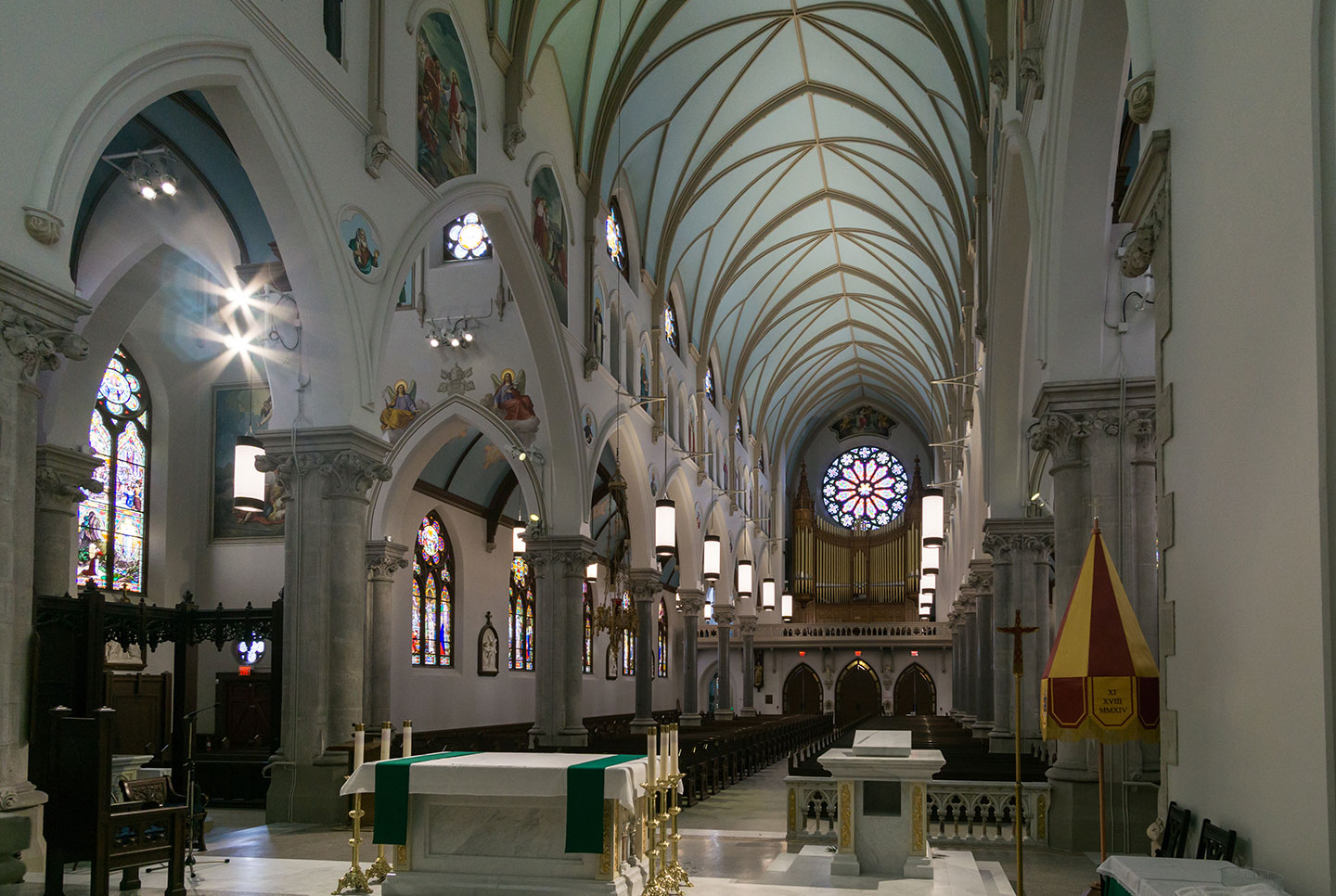 Our Lady Immaculate Basilica - From the altar