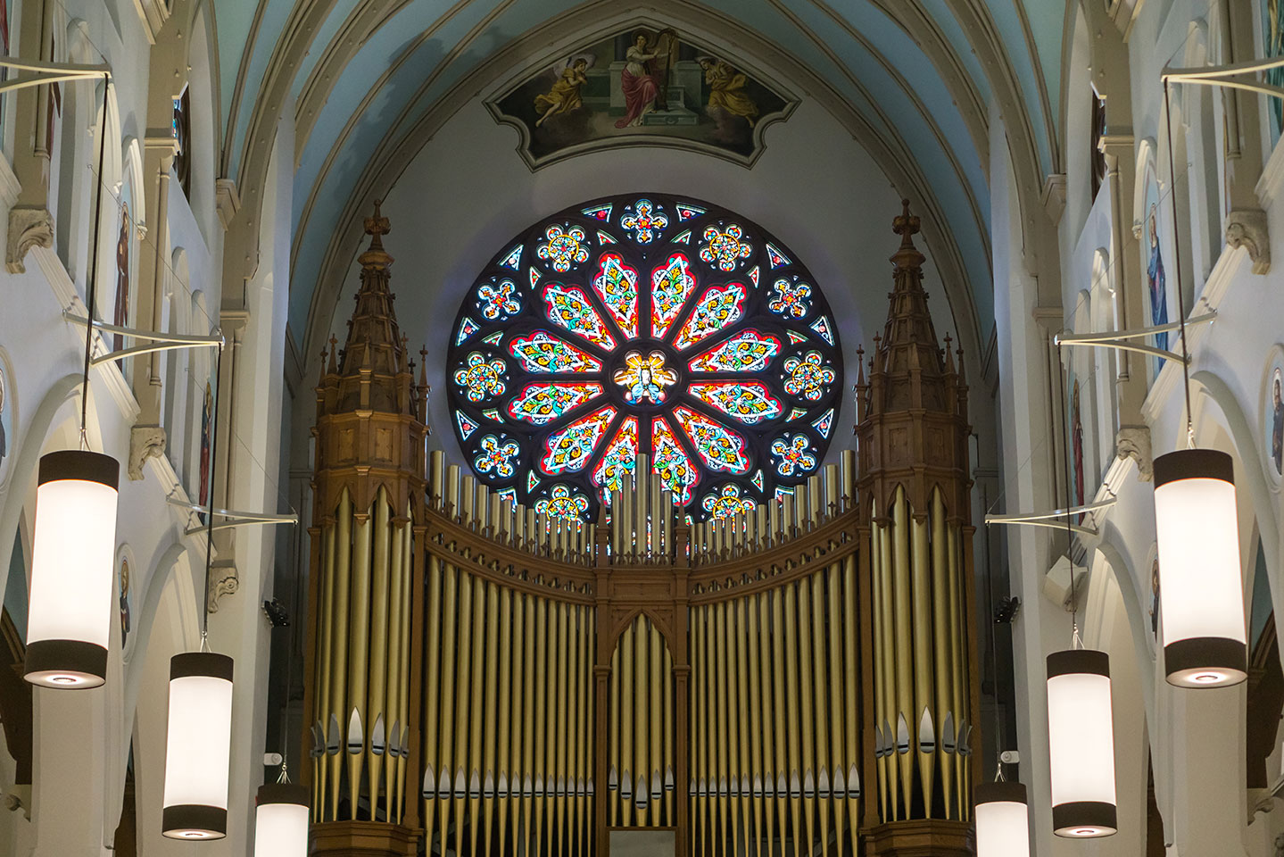 Our Lady Immaculate Basilica - Pipe Organ
