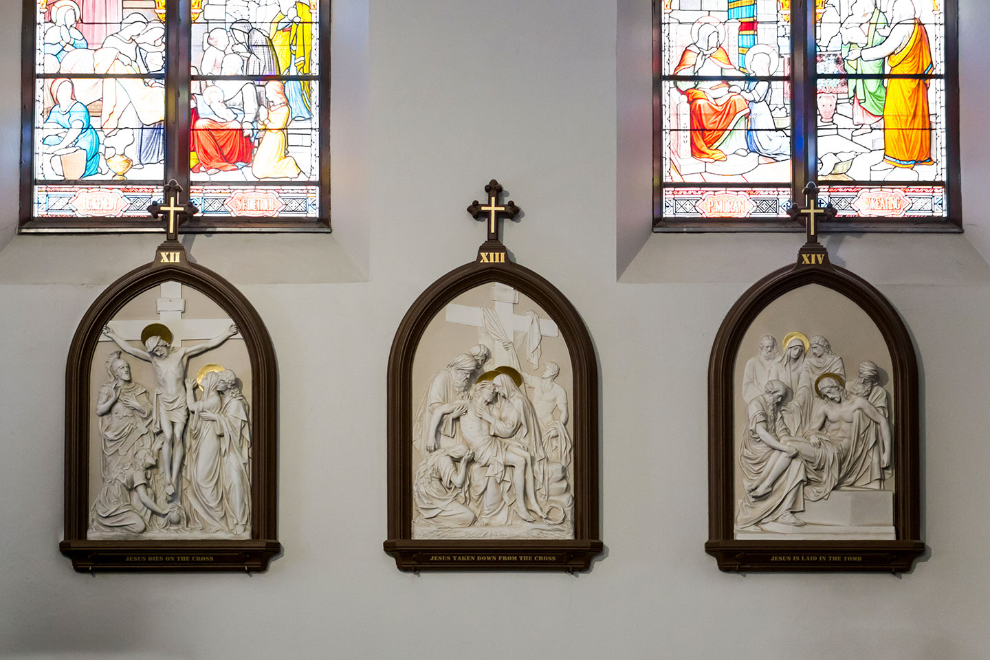 Our Lady Immaculate Basilica - Stations of the Cross