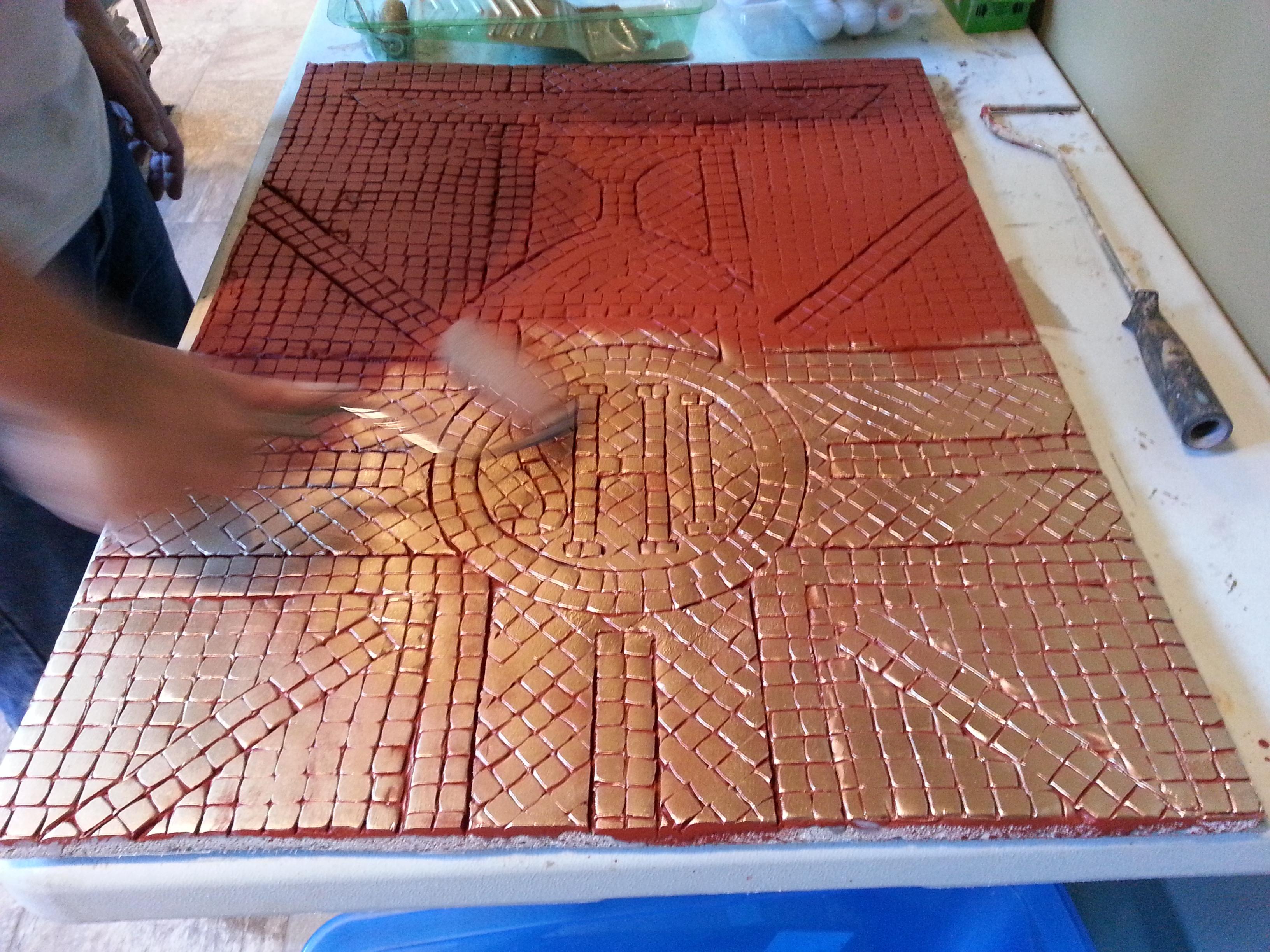 FPDR mosaic restoration