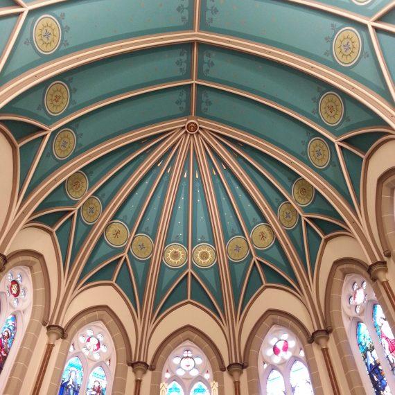 FPDR apse restored