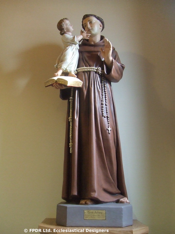 FPDR restoration of St. Francis of Assisi