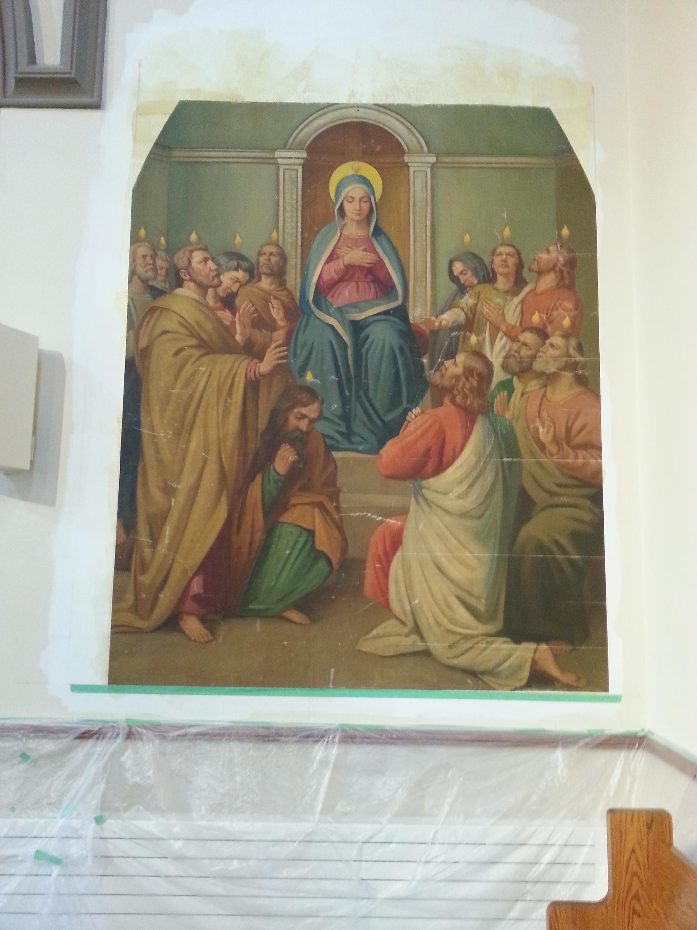 FPDR restored mural