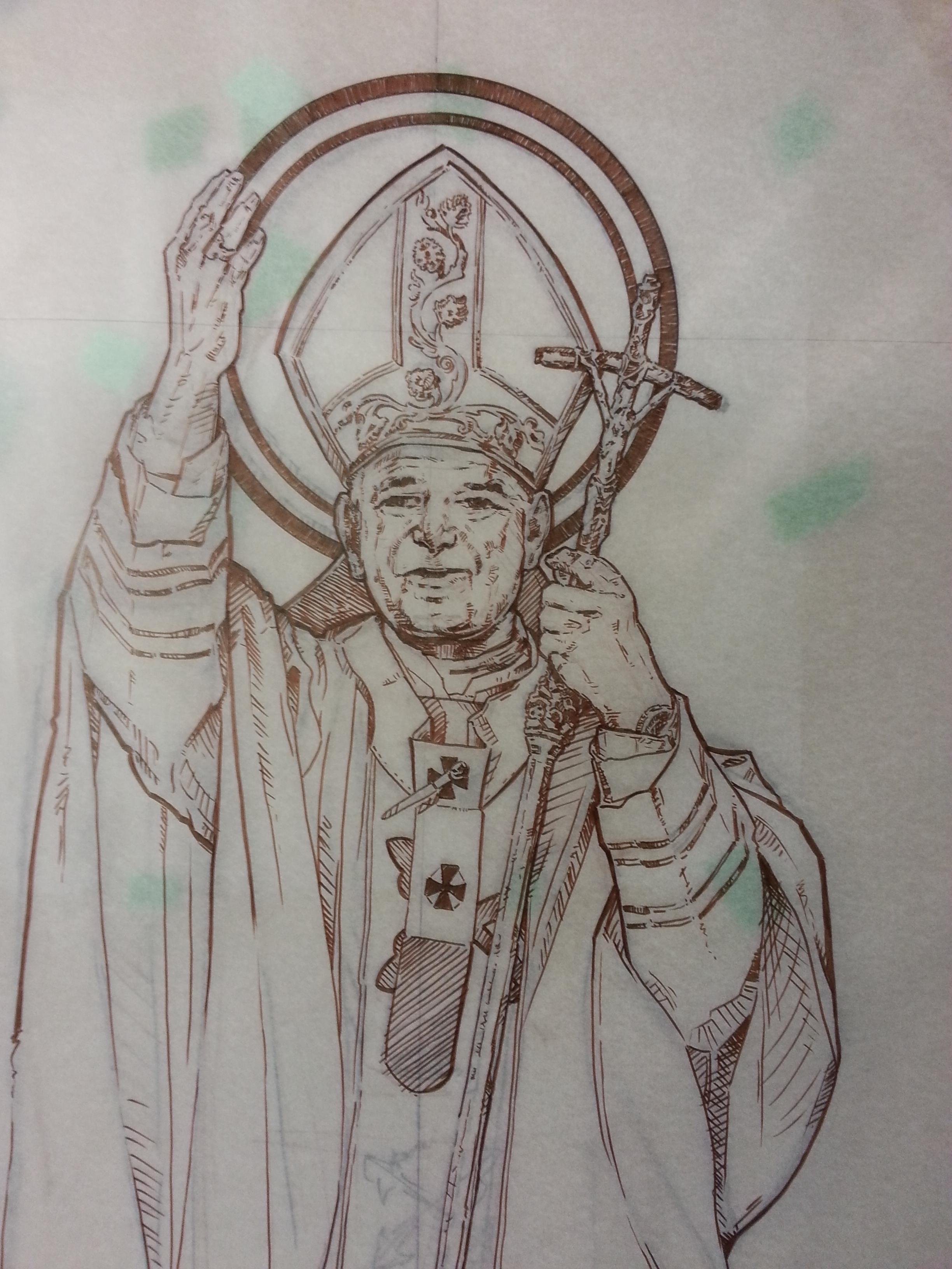 FPDR St. John Paul II mural