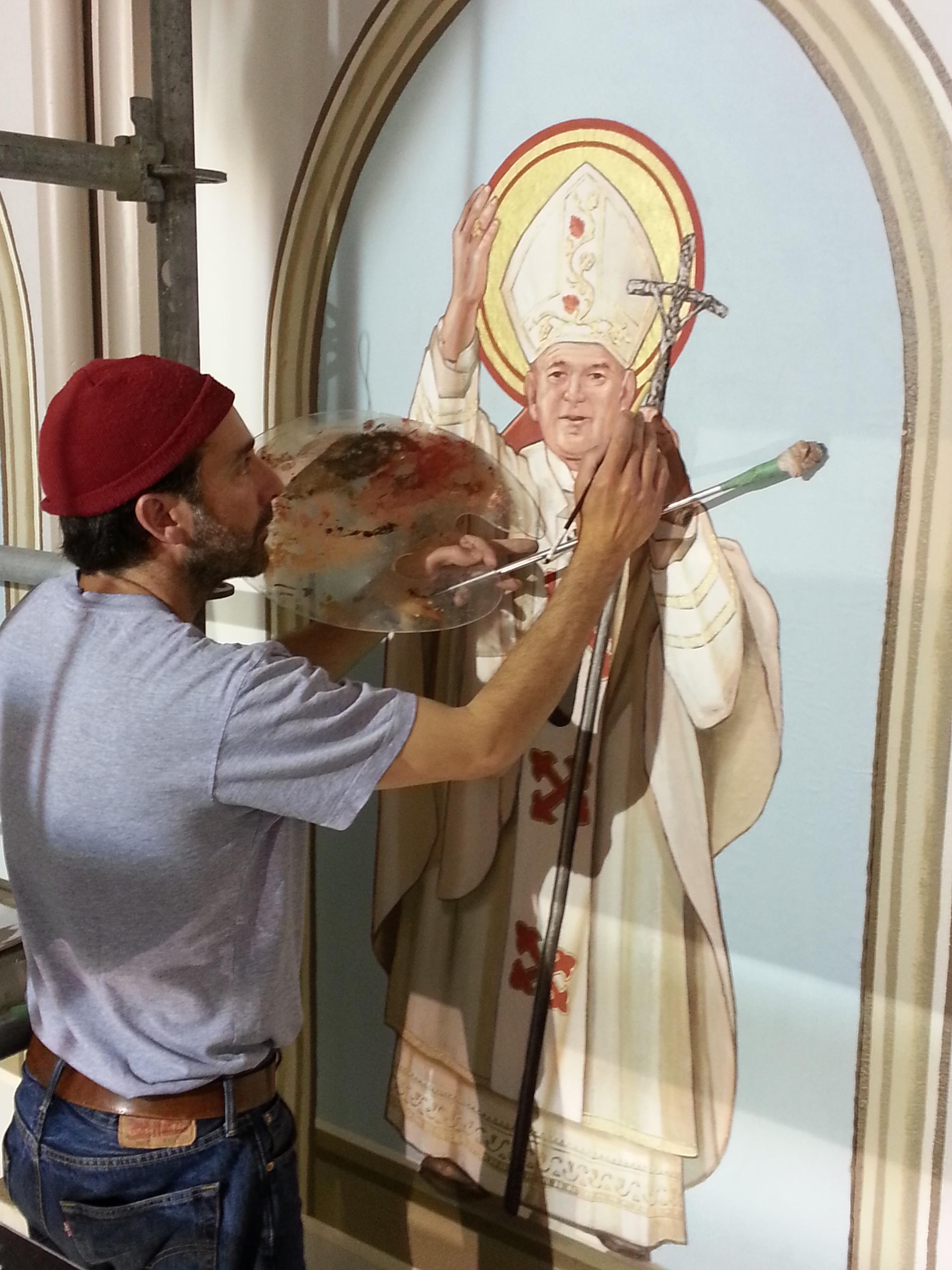 FPDR painting St. John Paul II