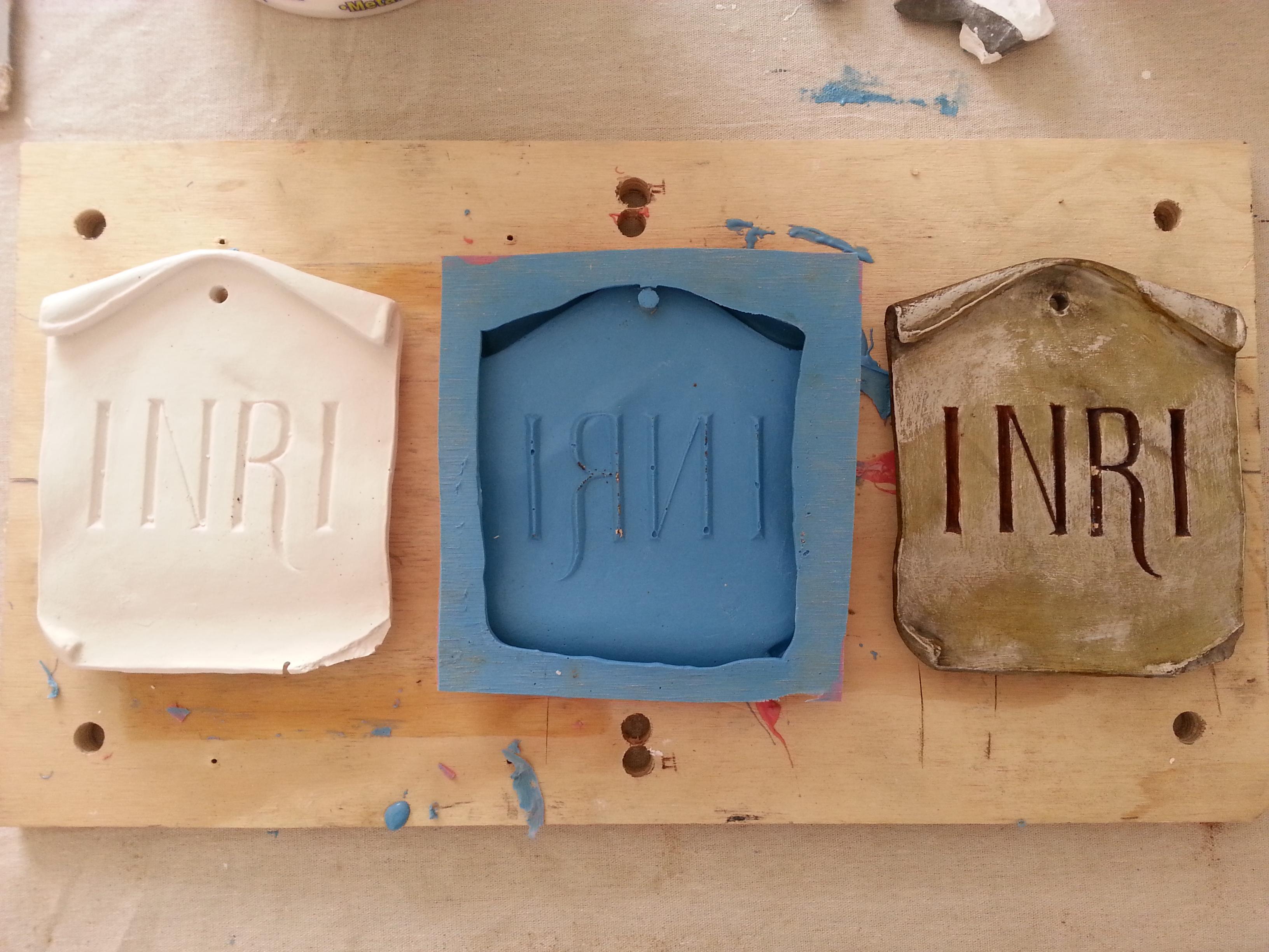 FPDR plaster cast