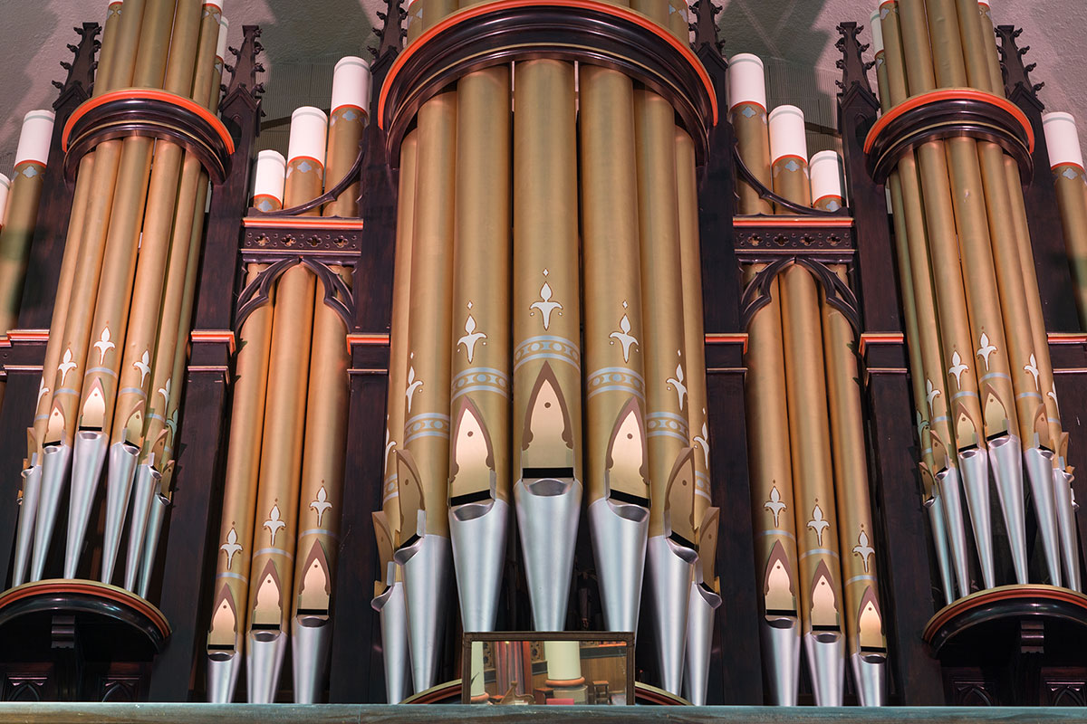 Our Lady of Perpetual Help - Organ Pipes