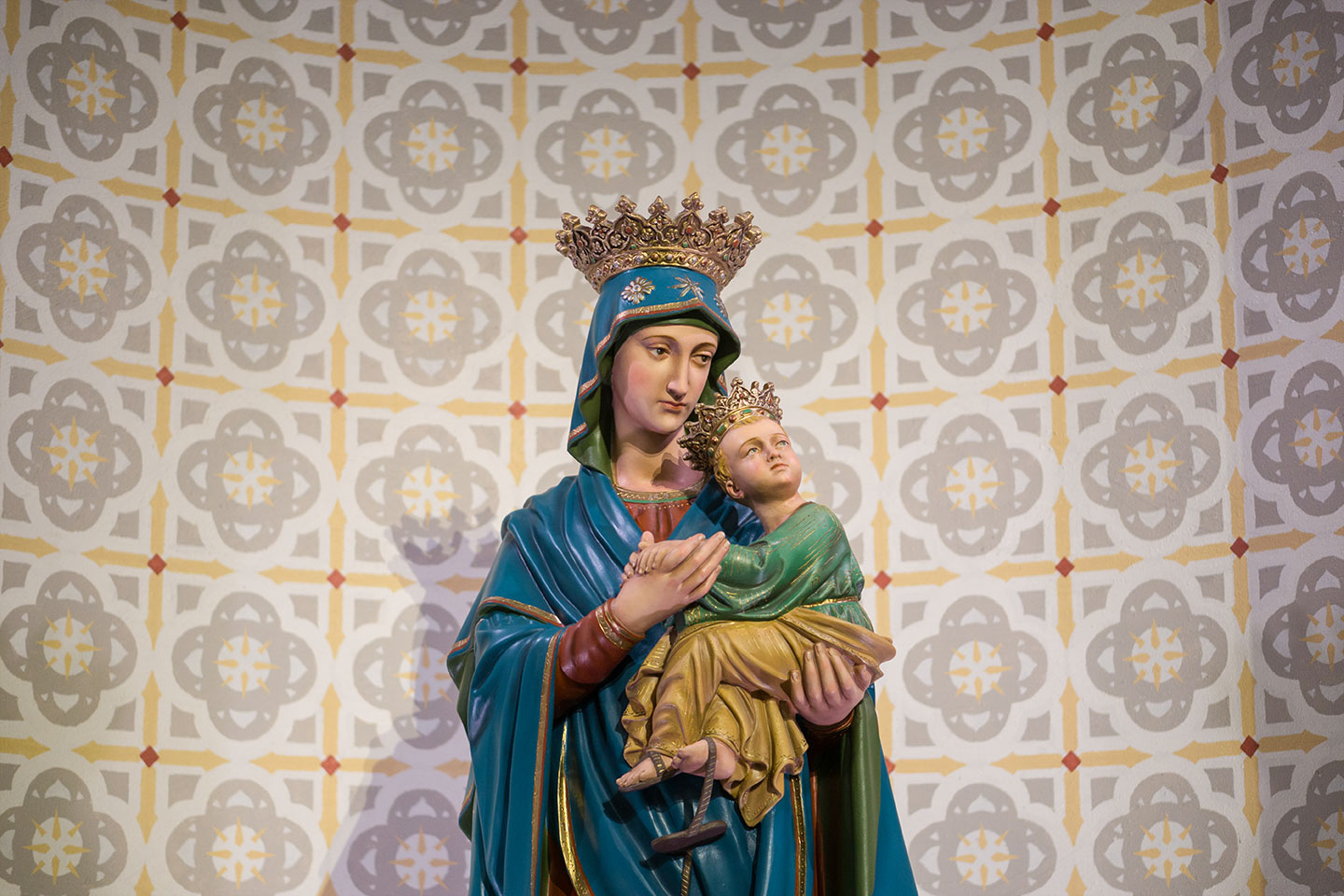 Our Lady of Perpetual Help - Statue of Mary