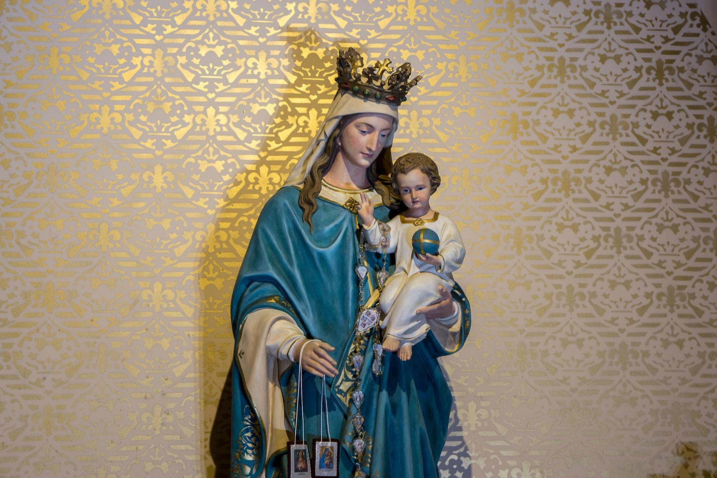 Our Lady of Mt. Carmel - Statue of Mary